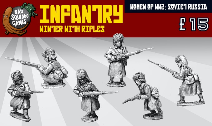 Infantry With Rifles - Bad Squiddo Games