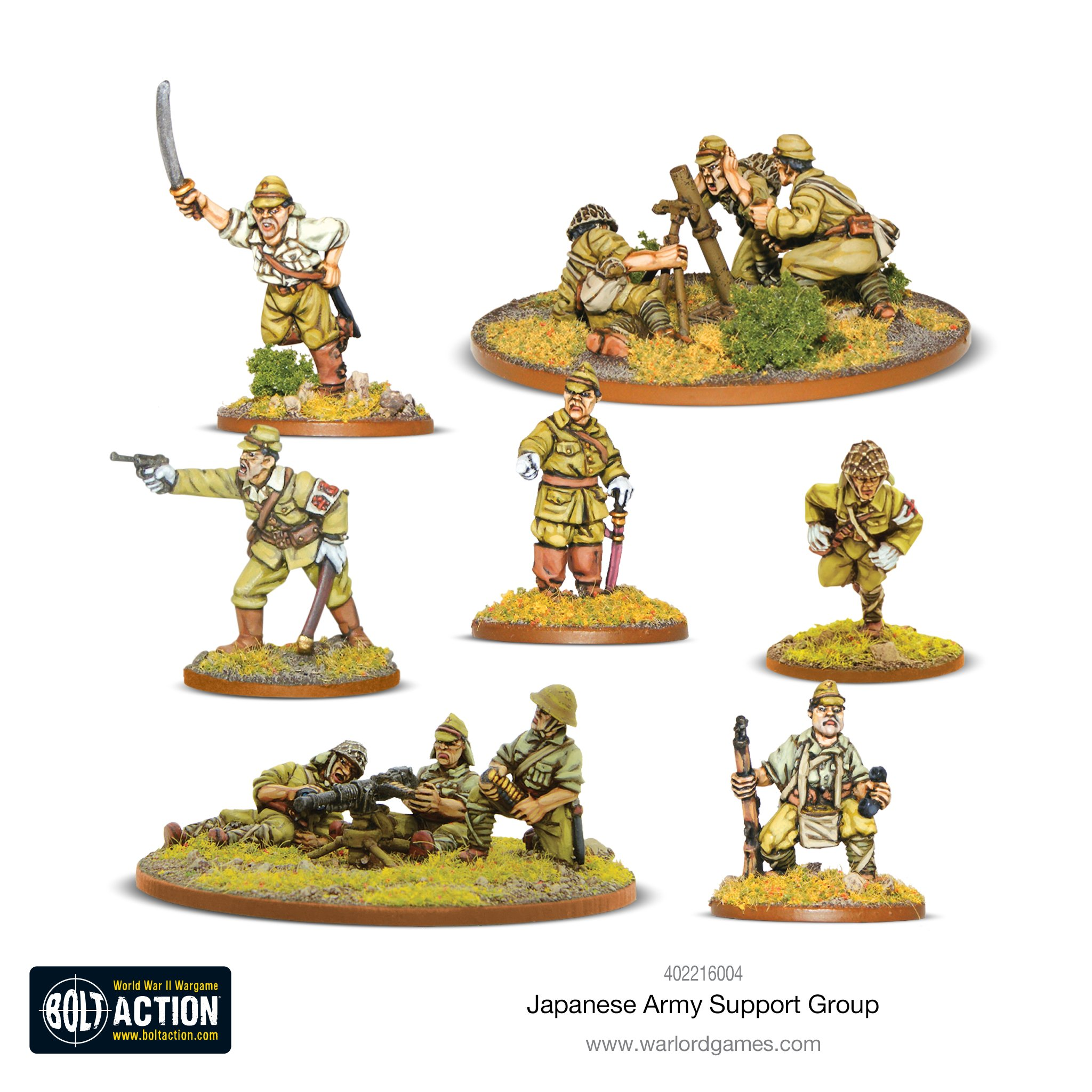 Japanese Support Group - Bolt Action