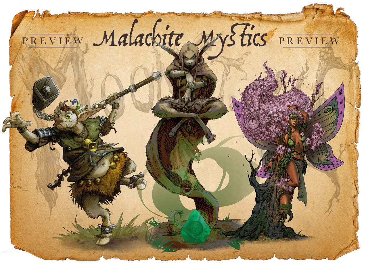 Malachite Mystics Troupe Box - Moonstone