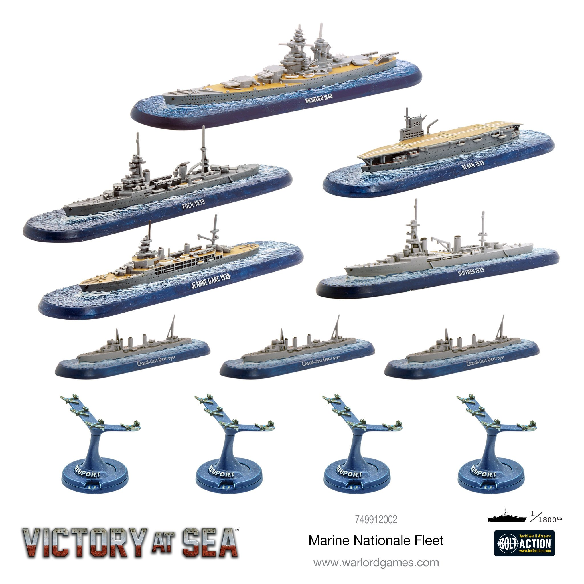 Marine Nationale Fleet - Victory At Sea