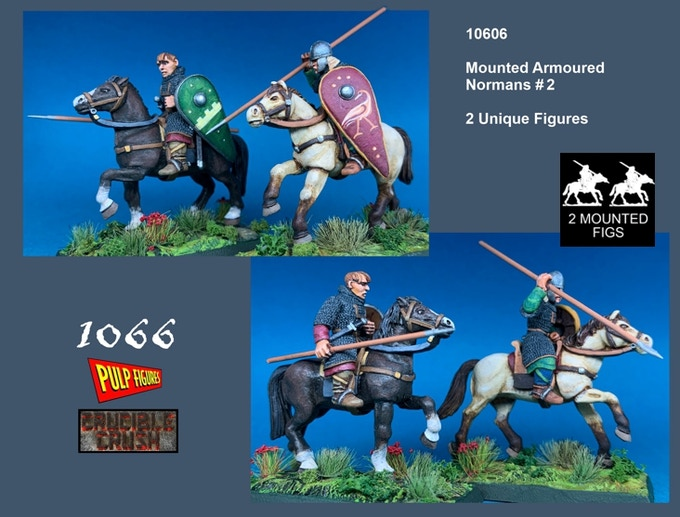 Mounted Armoured Normans - Crucible Crush