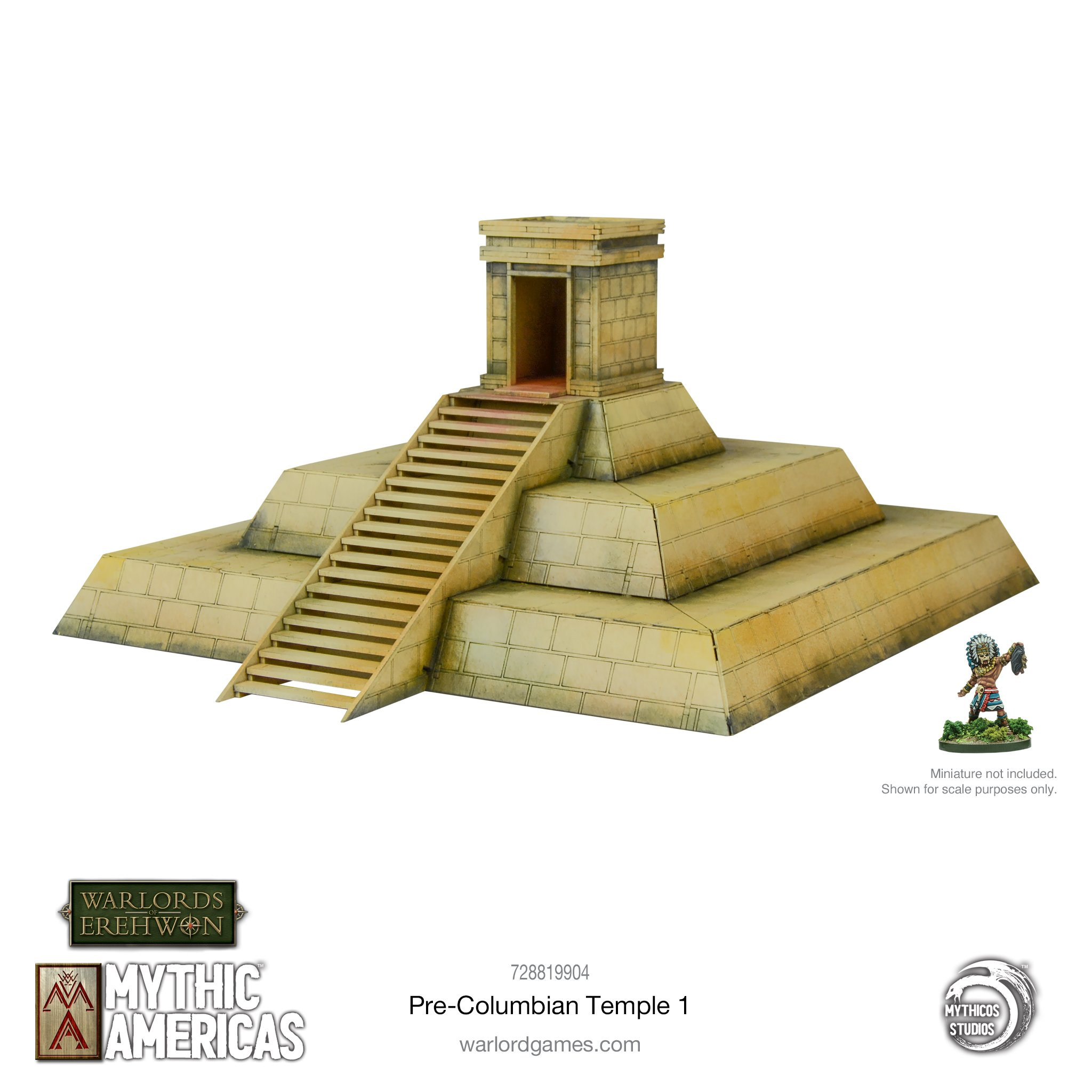 Pre-Columbian Temple #1 - Mythic Americas