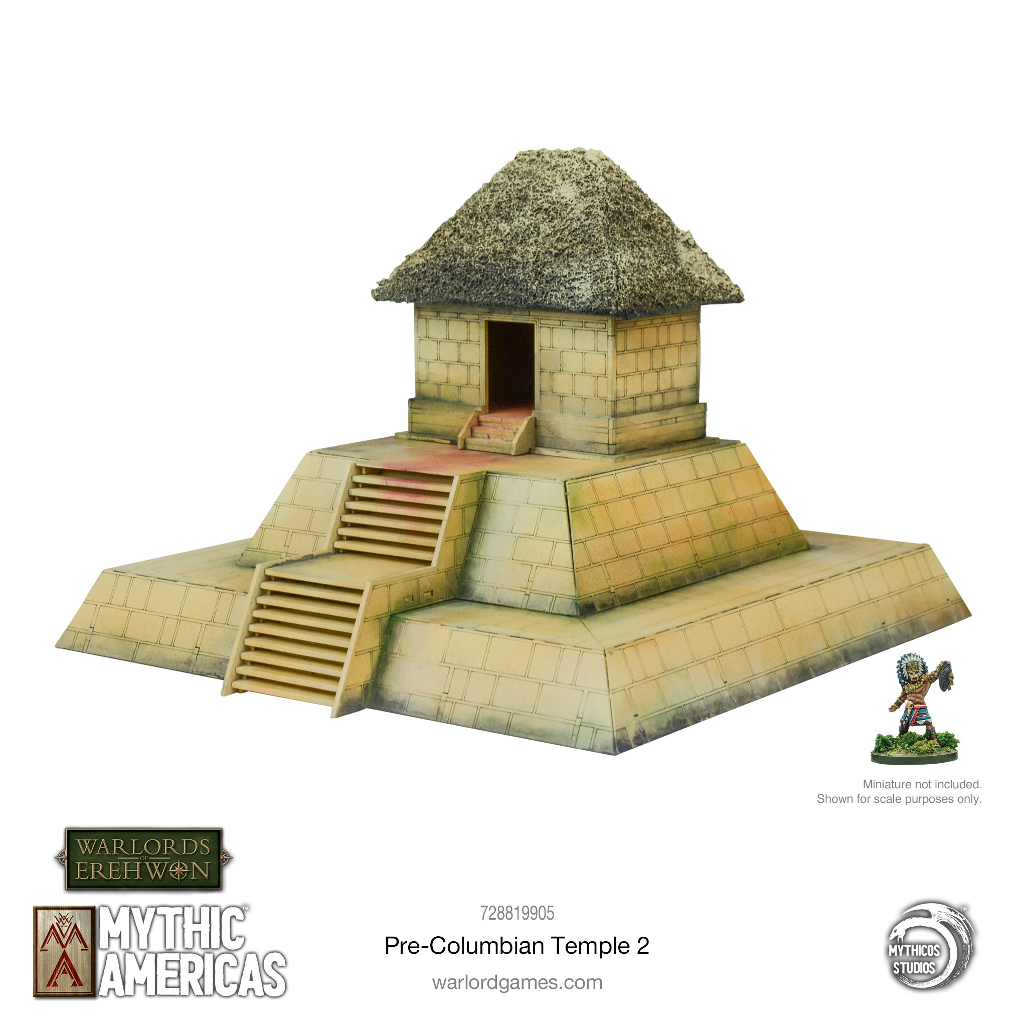 Pre-Columbian Temple #2 - Mythic Americas