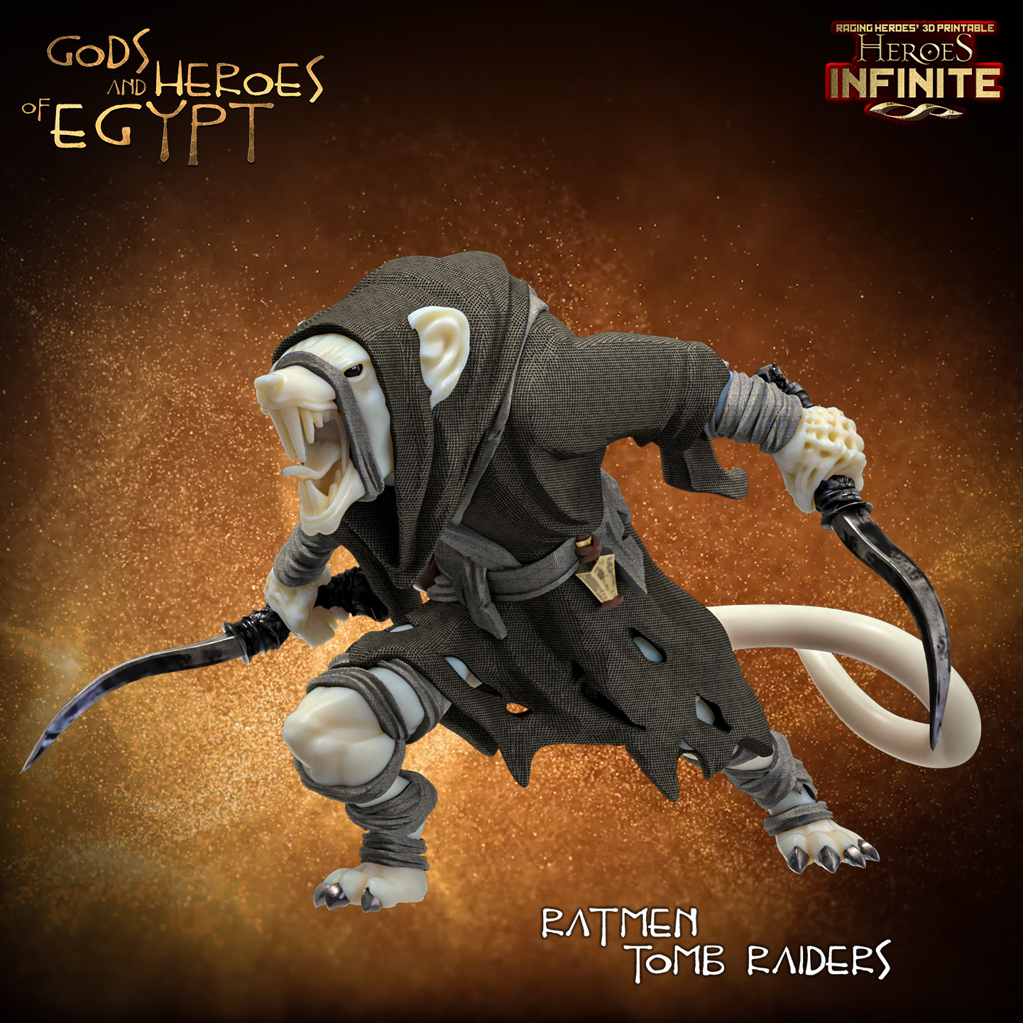 Ratmen Tomb Raiders - Raging Heroes
