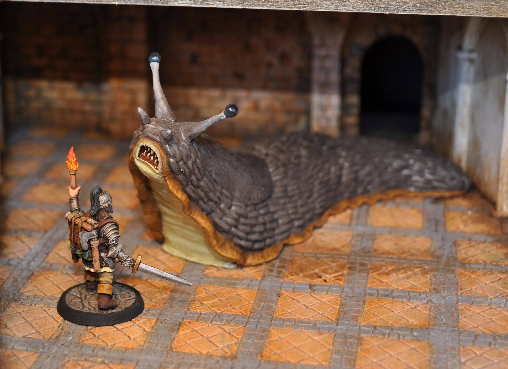 Remastered Giant Slug - Otherworld Miniatures