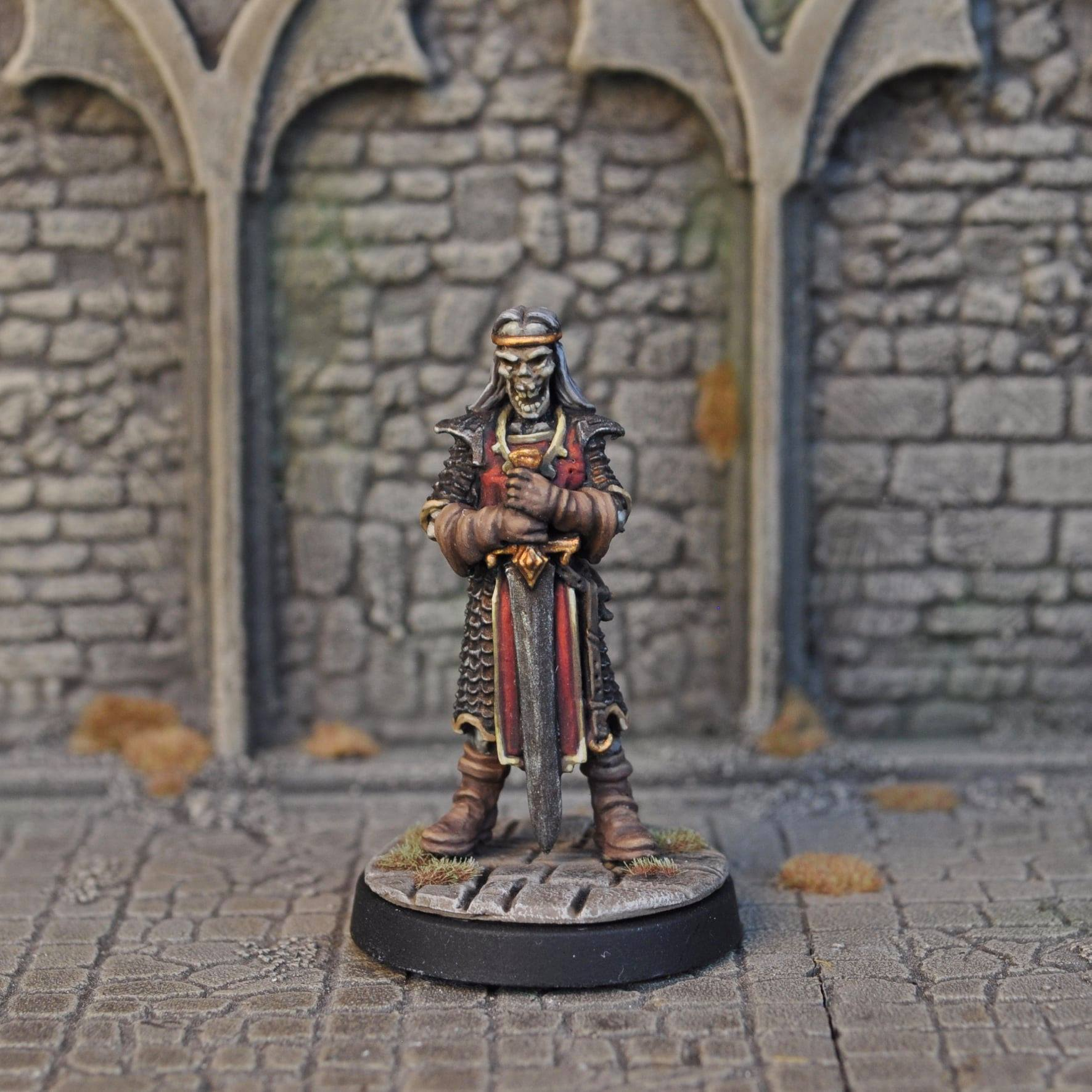 Skeleton Warrior - Otherworld Miniatures
