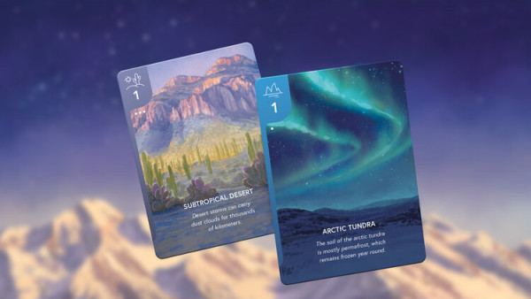 Research & Explore Earth's Biomes In Renegade's Card Game Subastral