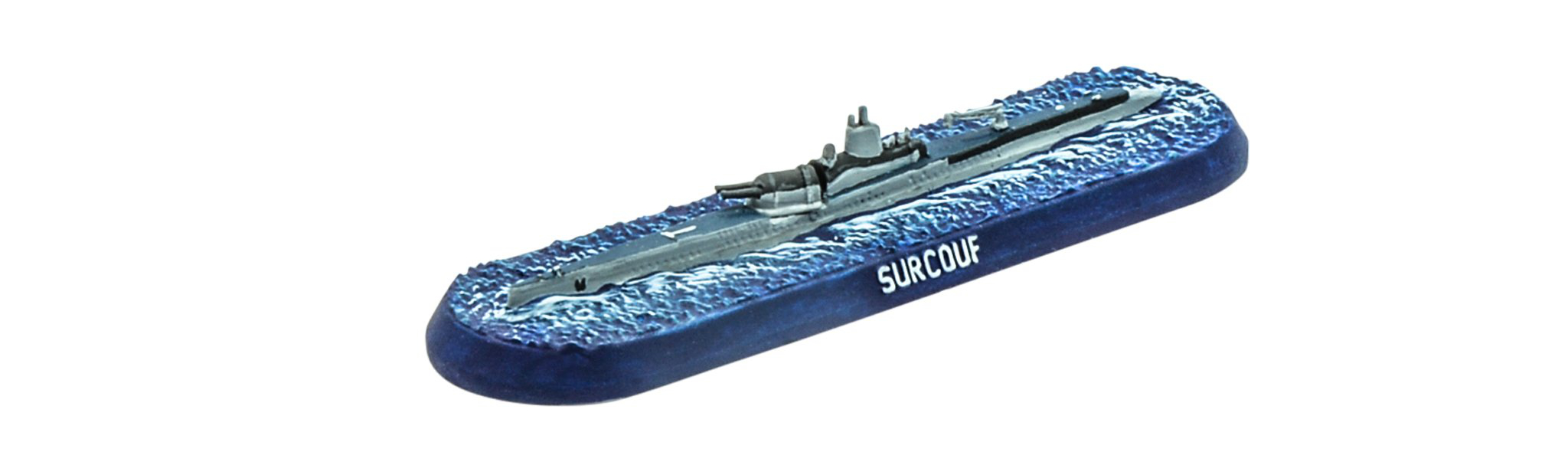 Surcouf Cruiser Submarine - Victory At Sea