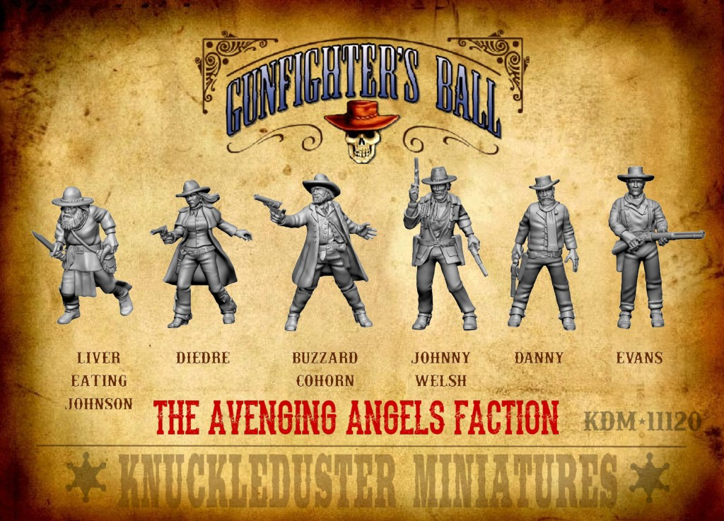 The Avenging Angels - Knuckleduster Miniatures