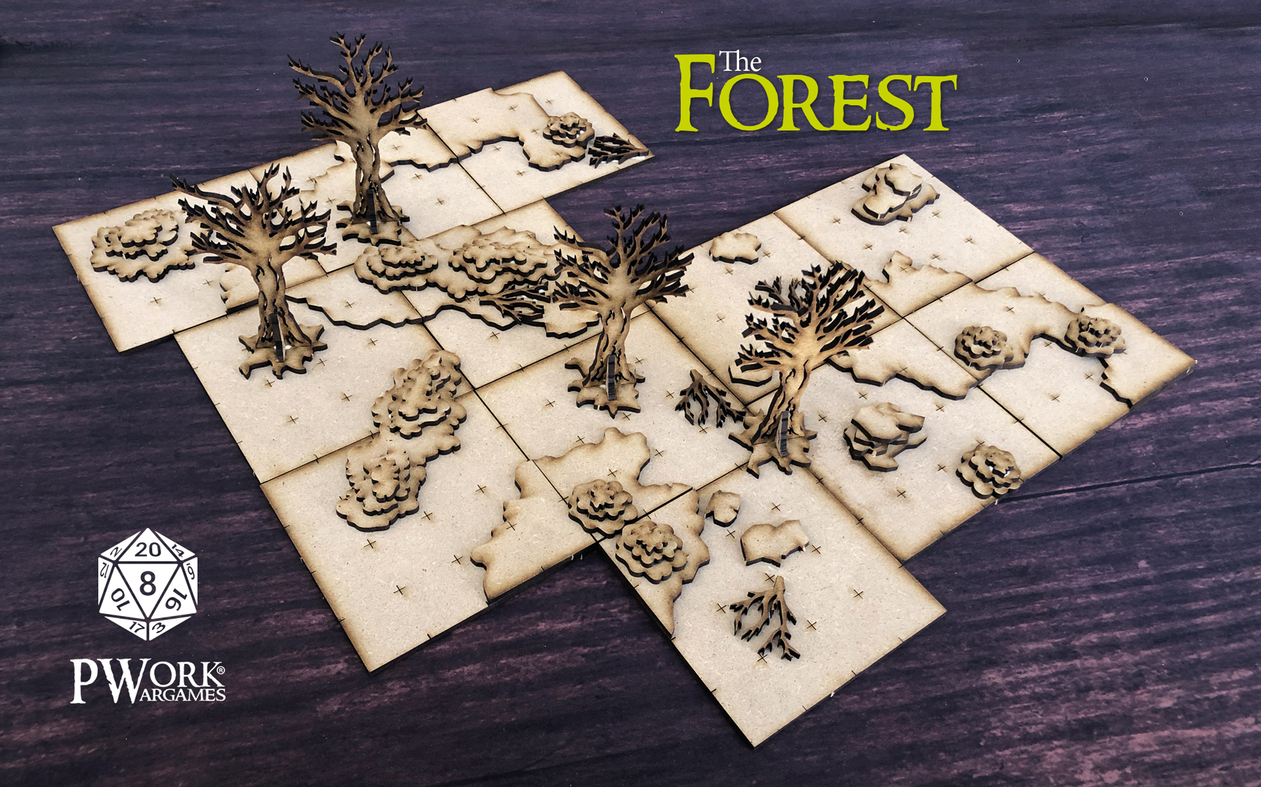 The Forest - PWork Wargames
