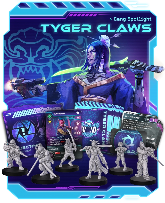 Tyger Claw Gang - Combat Zone