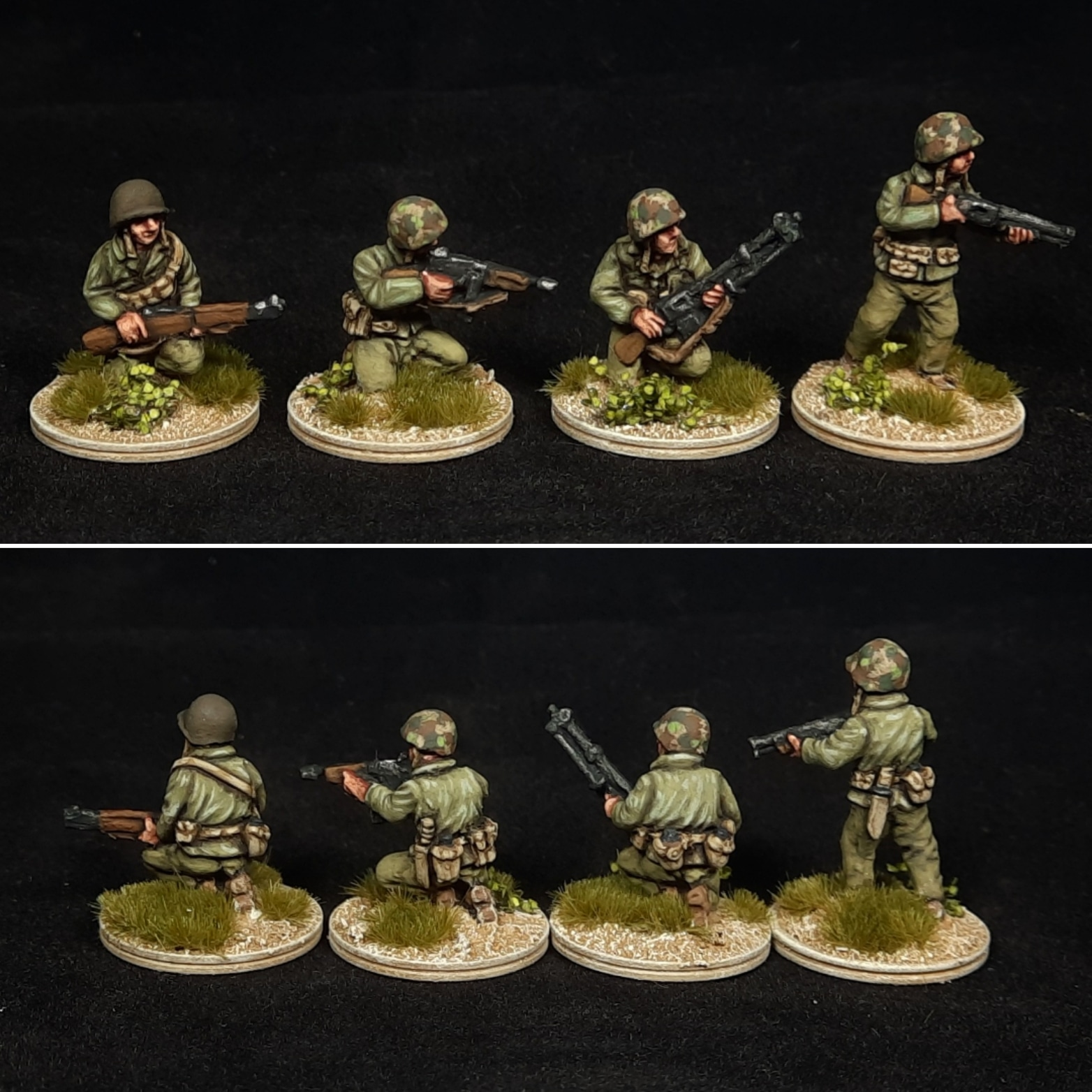 US Marine Corps Platoon Painted - The Plastic Soldier Company
