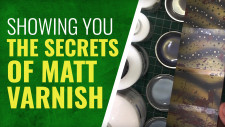 Gerry Can Show You How To Use Matt Varnish!