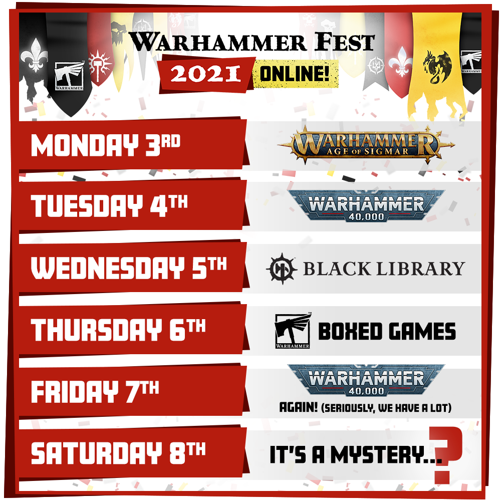 Warhammer Fest 2021 - Games Workshop