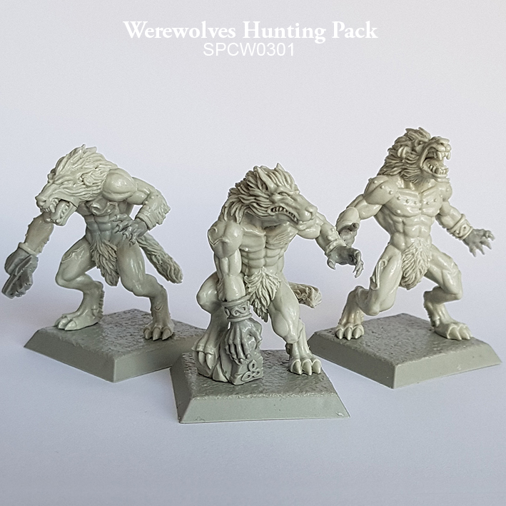 Werewolves Hunting Pack - Spellcrow