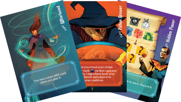 Create Potions and Boil Up A Storm in Whirling Witchcraft from AEG