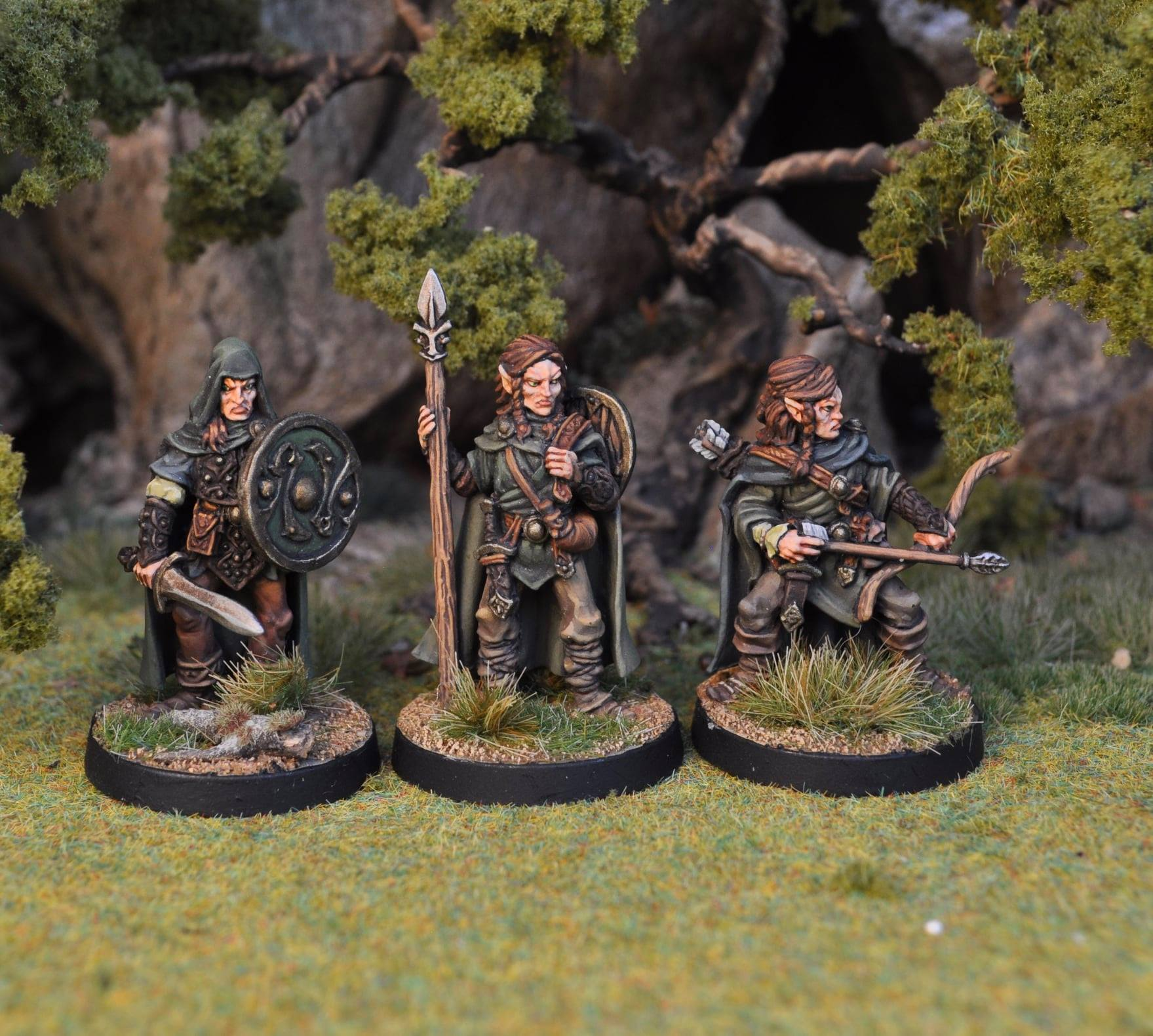 Wood Elves - Otherworld Miniatures