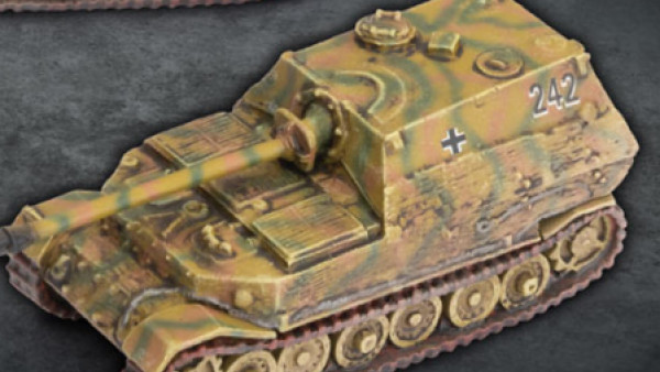Hunt Tanks With Some Hefty Flames Of War German Armour