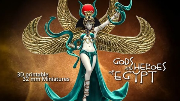 Raging Heroes Bring The Gods & Heroes Of Egypt To Patreon
