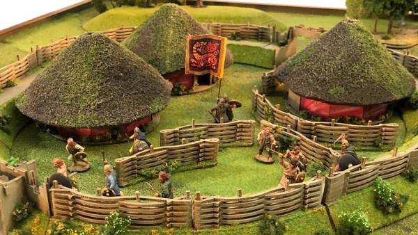 Craft A Celtic Village & Palisade Fort With Sarissa Precision