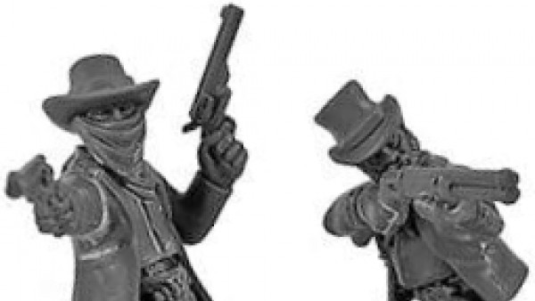 New Multi-Part Plastic Gunfighters Coming To Dead Man's Hand!