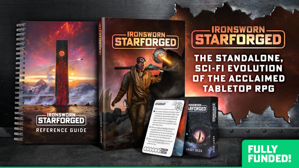 Solo RPG Ironsworn: Starforged Heads To Kickstarter