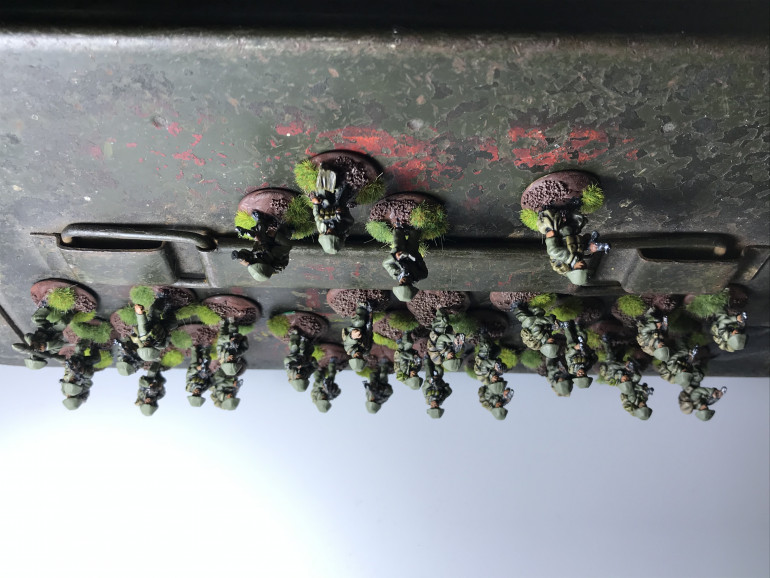 The infantry platoon is growing