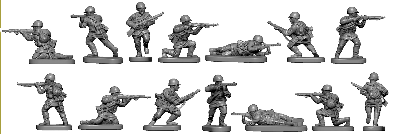 12mm Russian Infantry - Victrix