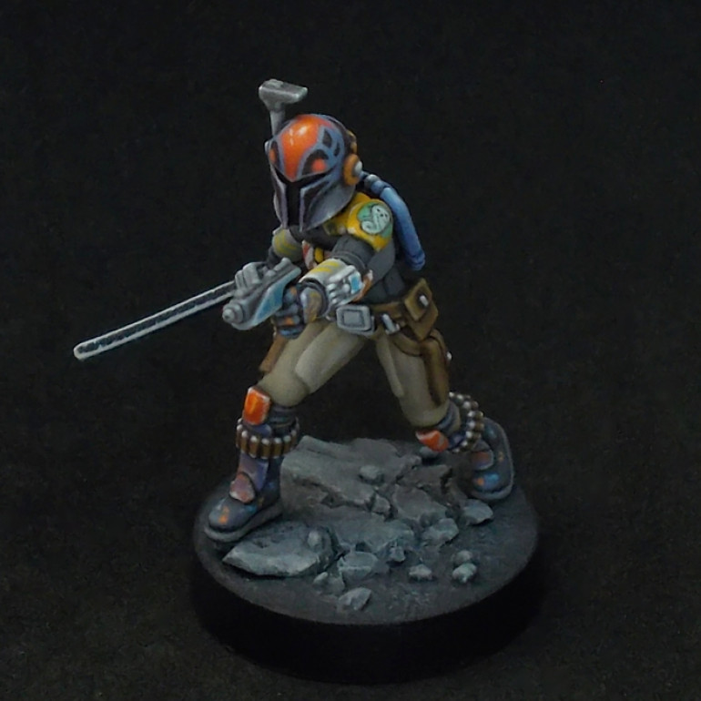 Blast from the past (or future?) - Sabine Wren