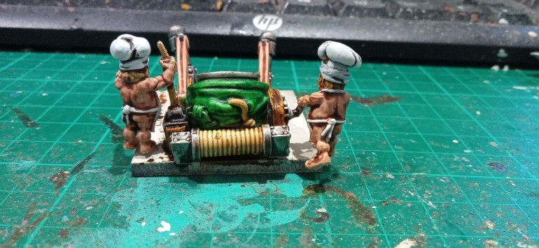 The Crew are naked for some reason, I painted them with Contrast Flesh and it turned out nicely