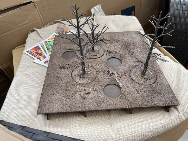 the forest/woodland tiles get the soil treatment
