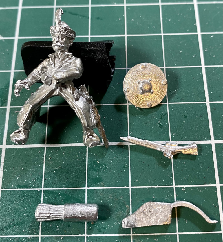 A Foundry cossack, with some potential extra accessories from TAG