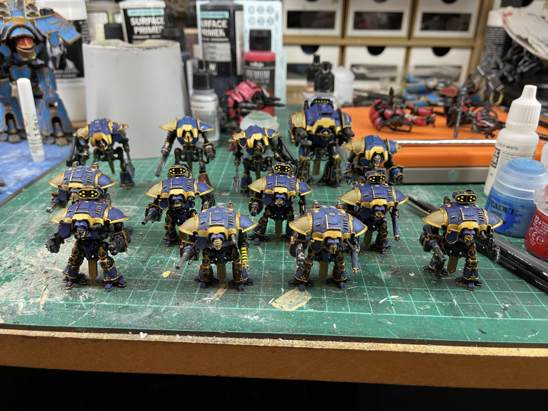 Knights are done