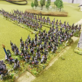 Final French infantry