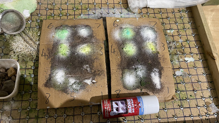 Testing - part 4 The Christmas snow cans