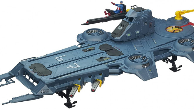 converting a toy helicarrier