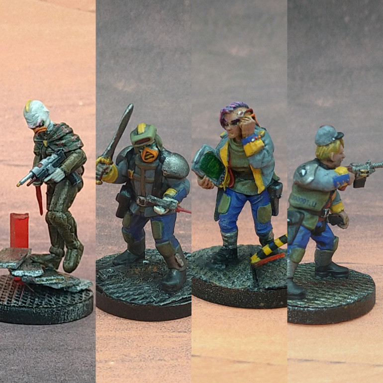 And the regular soldiers of the crew.
