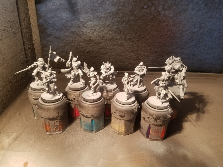 Assembled and primed
