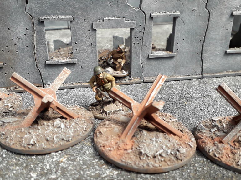Czech Hedgehogs on the 'Eastern Front'!