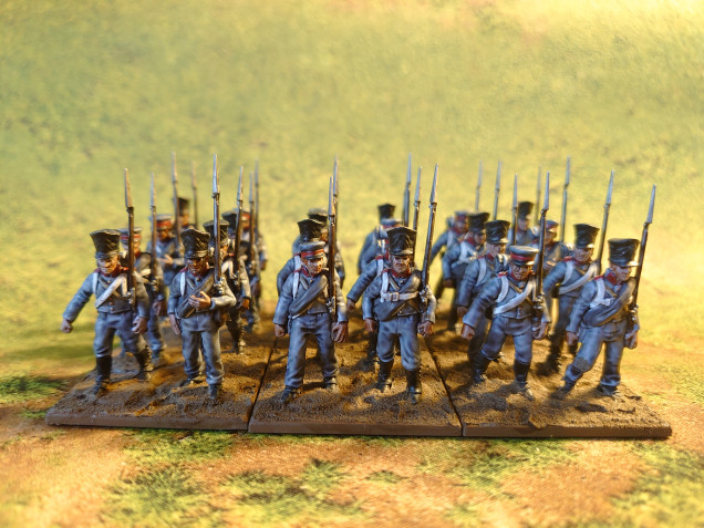 1st Battalion of Prussian Reserve by Wargames Atlantic Complete