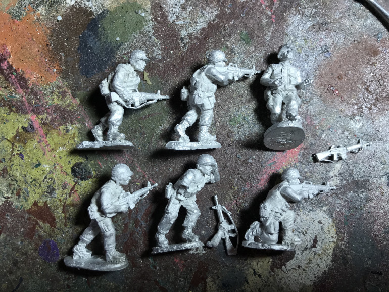 Some more marines to paint up from gringo40s great us marine range