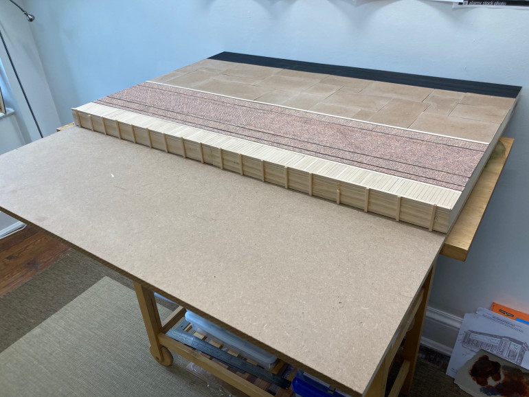 2'x3' Quay board with 1'x3' water front.