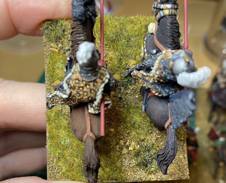 Mid-tone and darker-tone static grasses added.