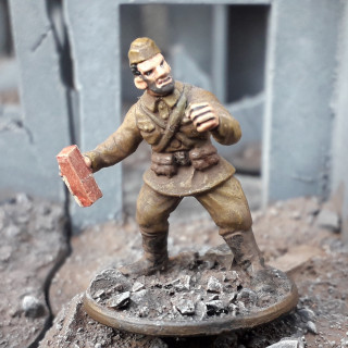 Soviet Reinforcements. Desperate times call for desperate measures...'Not One Step Back!'.