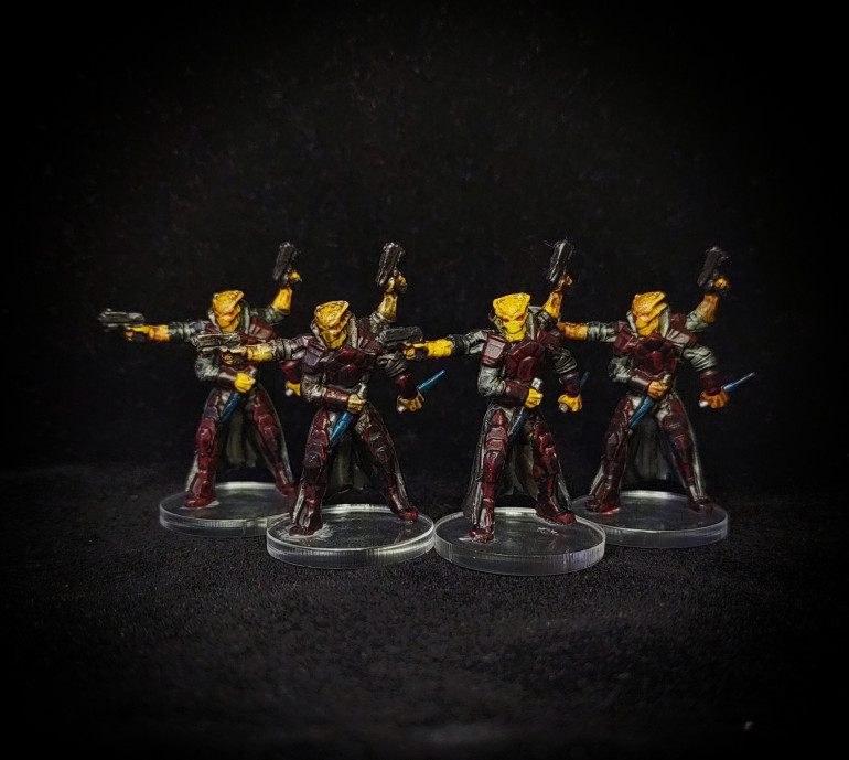 Rin Nomads painted by Paul