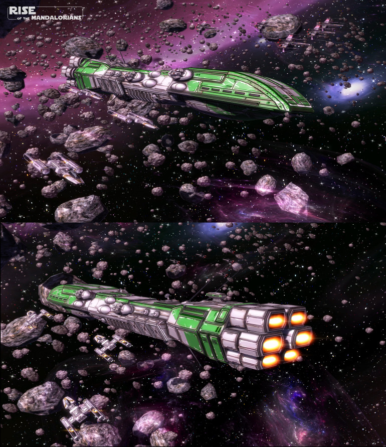Peregrine (a ship from the EU / Legends of Star Wars)