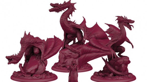 The Targaryens Dominate As Dragons Arrive In CMON's ASOIAF