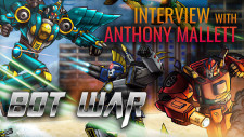 Bot War! 80s Inspired Miniature Gaming | Interview With Creator Anthony Mallett