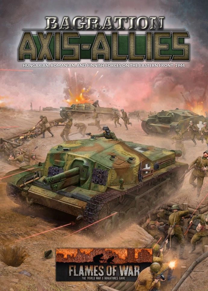 Bagration Axis & Allies New - Flames Of War