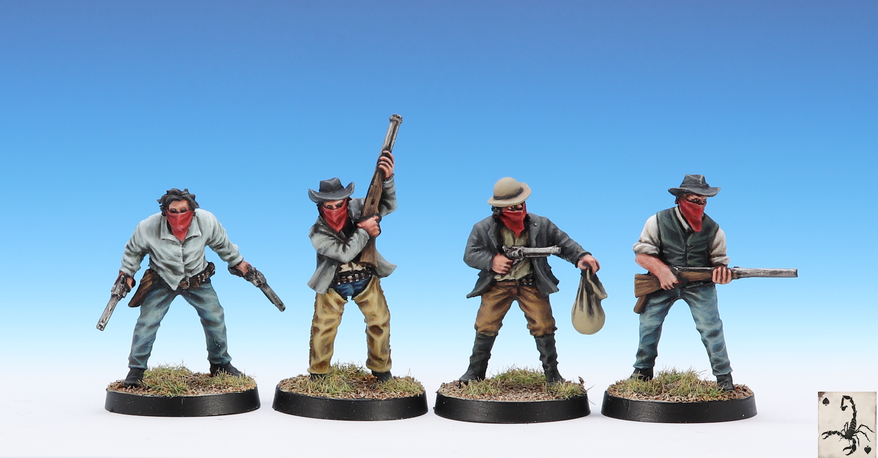 Bank Robbers - Black Scorpion Miniatures